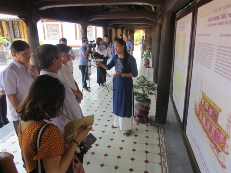 Chiêm ngưỡng những kiệt tác được làm ở quan xưởng triều Nguyễn
