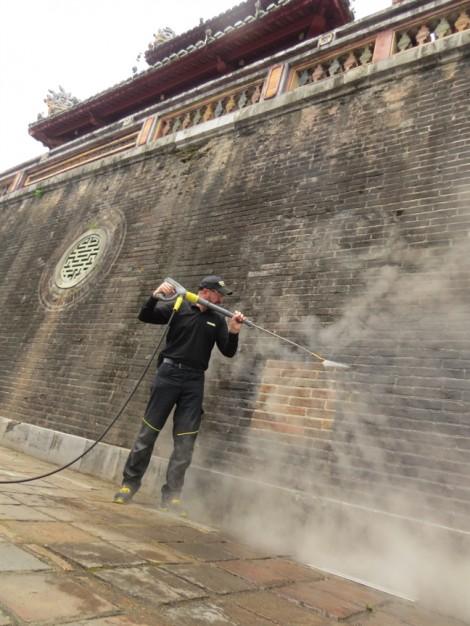 Hoàn tất dự án làm sạch ô nhiễm cổng Ngọ Môn, Đại nội Huế
