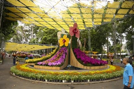 Chiêm ngưỡng hàng trăm loại hoa khoe sắc ở Festival hoa lan TP.HCM