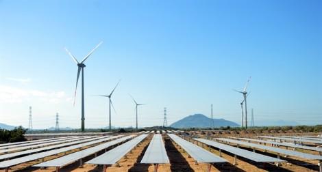 Dự án điện mặt trời lớn nhất nước chính thức vận hành ở Ninh Thuận