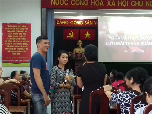 'Nguoi phu nu dep la nguoi phu nu biet yeu thuong va quy trong ban than minh'