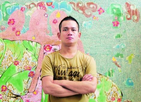 Họa sĩ  Nguyễn Thế Hùng - Giấc mơ hoa không hư ảo