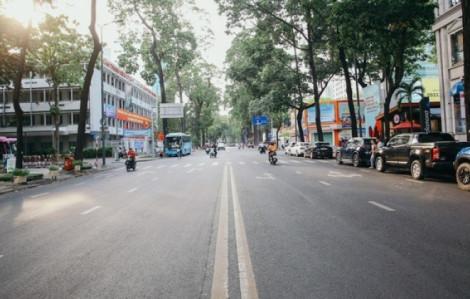 Sài Gòn ngày vắng vẻ