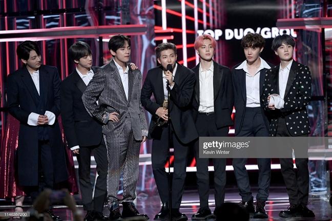 Giai thuong Billboard 2019: BTS gianh cu dup an tuong