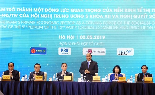 Dien dan Kinh te tu nhan Viet Nam 2019: De xuat 'ca phe voi Thu tuong', tao dot pha cho khoi nghiep sang tao