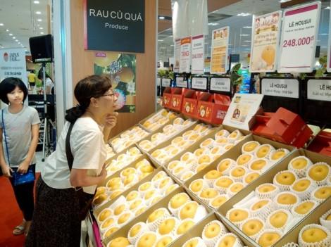 Hàng Việt khó vào siêu thị Nhật