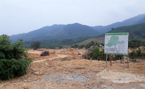 Công ty DHC ngang nhiên san lấp dự án mở rộng công viên Núi Thần Tài