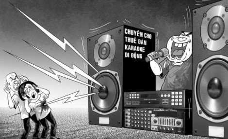 Đà Nẵng sẽ thoát họa tiếng ồn từ hát karaoke, loa kẹo kéo?