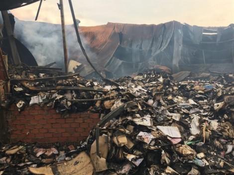 TP.HCM: Cháy kho chứa tài liệu có ảnh hưởng đến việc trợ giá xe buýt?