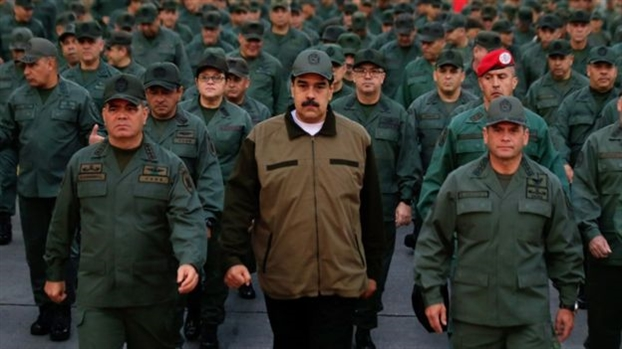 Khung hoang Venezuela: Lieu My co ra tay can thiep quan su?