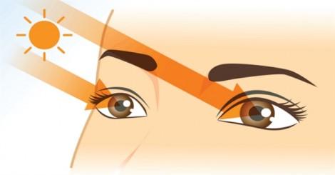 Không chỉ da, tia cực tím  còn 'không tha' cả mắt