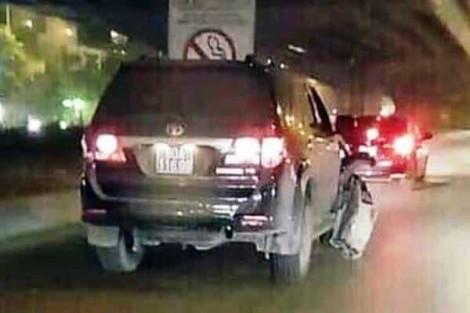 Người lái xe biển số xanh gây tai nạn rồi bỏ chạy là thượng sĩ công an