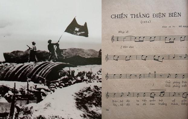 'Chien thang Dien Bien' va so phan mot ca khuc hao hung