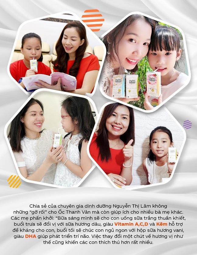 Hoc Oc Thanh Van giai bai toan dinh duong cho con bang 3 nguyen tac ket hop duong chat