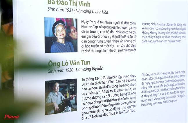 Trien lam 'Dien Bien Phu - Chuyen nhung nguoi lam nen lich su'