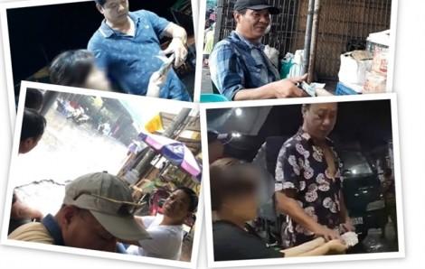 Công an Hà Nội thông báo tìm bị hại trong vụ 'bảo kê tại chợ Long Biên'