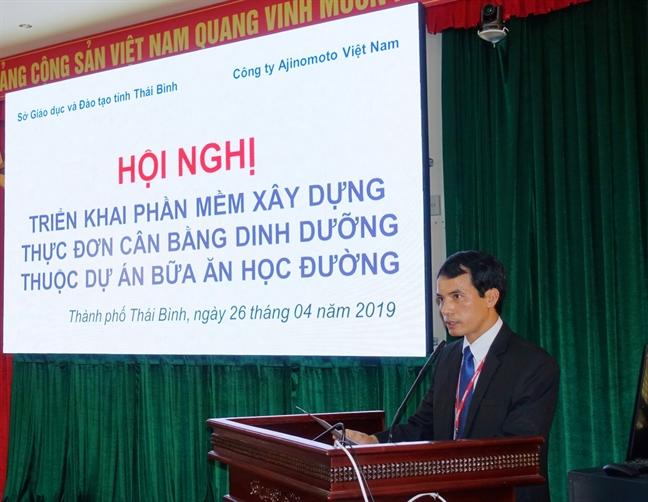 Du an Bua an hoc duong: giai phap nang cao chat luong bua an ban tru