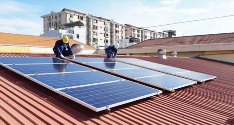 Giá bán mỗi ký điện mặt trời là 9,35 cent Mỹ