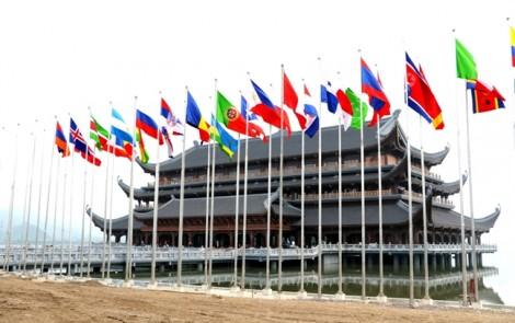 Cận cảnh ngôi chùa được chọn là địa điểm của Đại lễ Phật đản Liên Hiệp Quốc