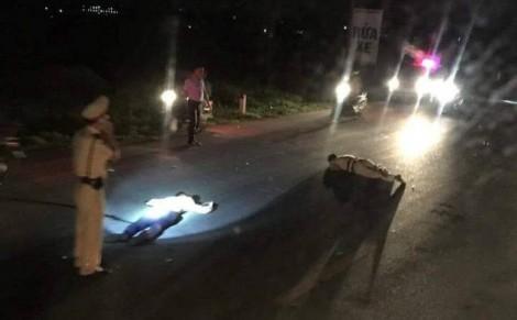 CSGT bị tông trọng thương khi yêu cầu 'quái xế' dừng xe