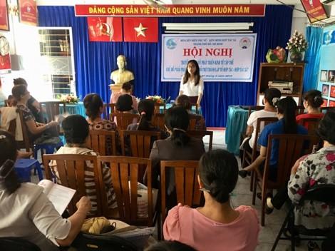 Bồi dưỡng kiến thức về tổ hợp tác – hợp tác xã cho cán bộ, hội viên phụ nữ