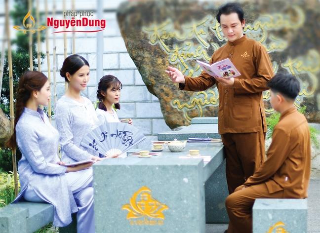 Phap phuc Nguyen Dung ra mat san pham phap phuc moi