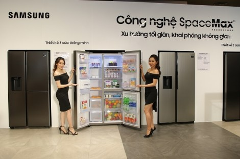 """Samsung chính thức ra mắt thế hệ tủ lạnh """"Side by Side"""" RS5000: chuẩn mực mới của gian bếp hiện đại"""