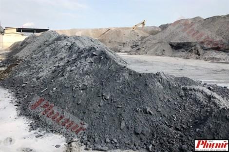 Cận cảnh chất thải gây tranh cãi ở Formosa Hà Tĩnh