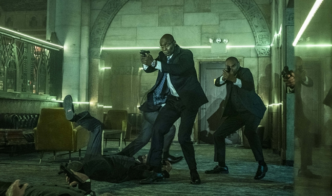 'John Wick 3': Dung dua voi Keanu Reeves