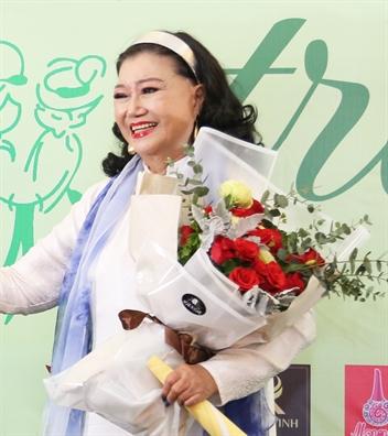 NSND Kim Cuong: Viec van dong tai tro phai di doi voi cong tac kiem tra, kiem toan, de giu niem tin cua cong dong