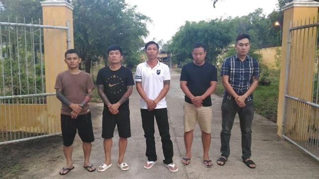 Quang Nam: Triet pha bang nhom xa hoi den cam dau duong day danh bac 600 ty dong