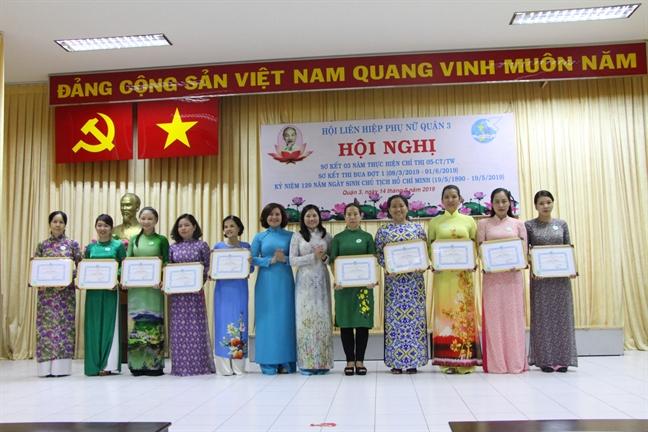 Tuyen duong 38 tap the, ca nhan dien hinh 'Hoc tap va lam theo tu tuong, dao duc, phong cach Ho Chi Minh'
