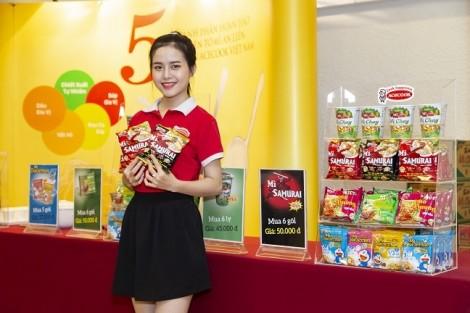 Mì SAMƯRAI thảo dược do Acecook Việt Nam sản xuất có 7 gia vị giải cảm