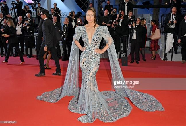 Ve dep nu tinh, sang trong chiem linh Cannes 2019 ngay thu hai