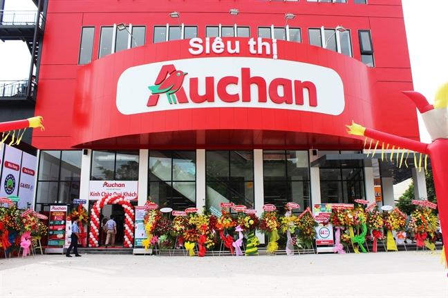 Chuoi sieu thi Auchan bat ngo lui khoi Viet Nam