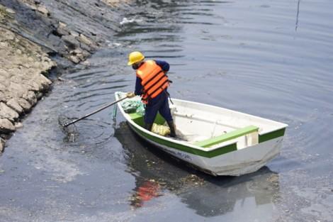 Hà Nội: Bắt đầu khởi công hệ thống làm sạch sông Tô Lịch