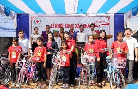 Prudential Việt Nam khởi công xây dựng nhà an toàn cho cộng đồng