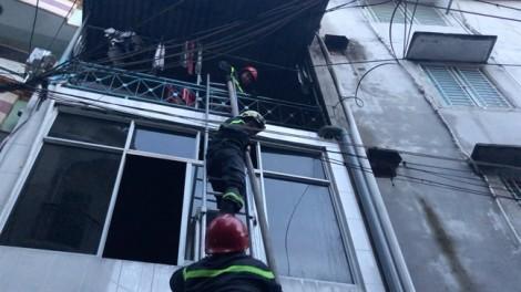 Cháy nhà nghi do bị đốt vì mâu thuẫn gia đình