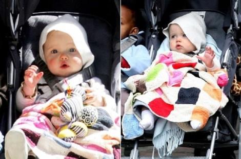 Phong cách tomboy nam tính của Shiloh- con gái Angela Jolie