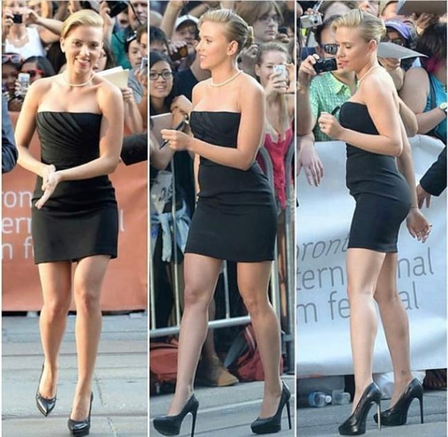 Gu thoi trang 'bat bien' cua hon phu Scarlett Johansson