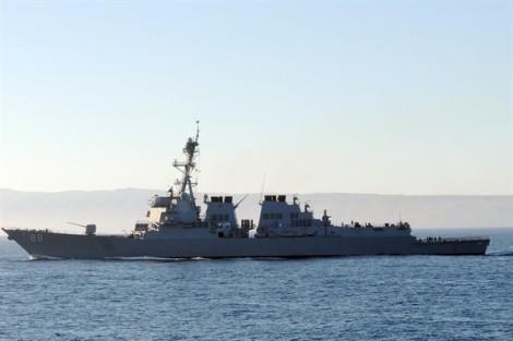 Mỹ tiếp tục cho tàu quân sự hiện diện tại biển Đông