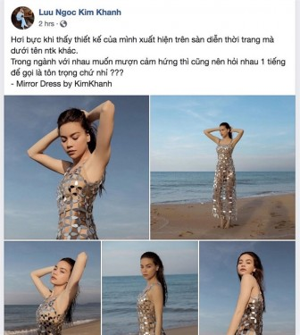 Khi thời trang Việt bị 'sờ gáy'
