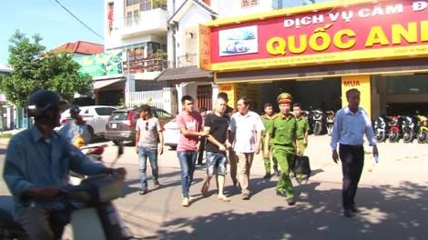 Bắt nhóm côn đồ chuyên dùng mã tấu chém người ở Huế