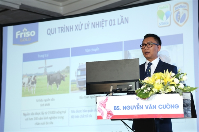 Friso chia se 'khuynh huong chan doan va phong ngua sinh non' tai Hoi nghi San phu khoa Viet – Phap lan thu 19