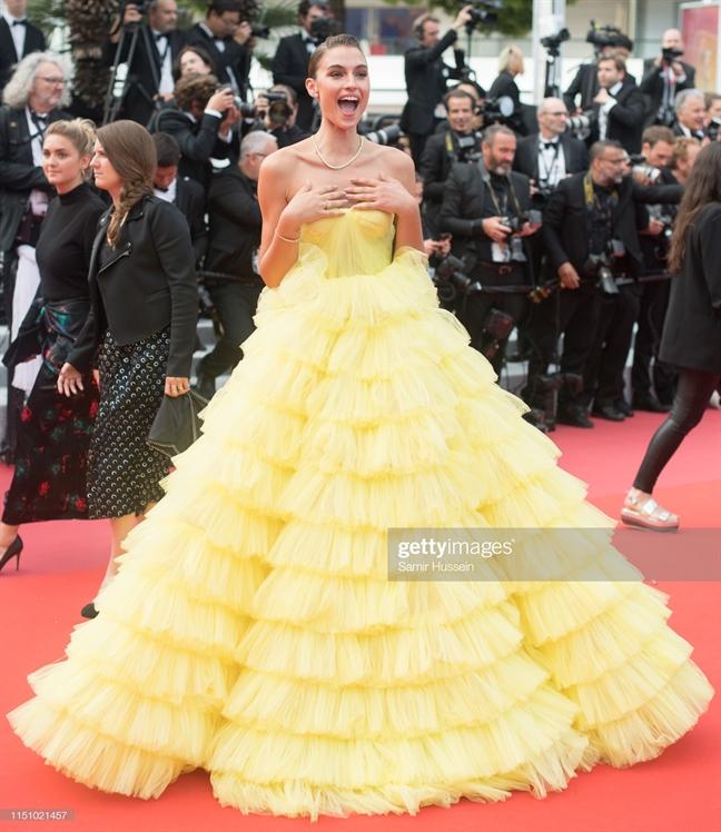 Tham do Cannes 2019 ngay thu chin: Ao dai, sao nu gap su co