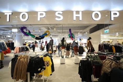 Thời trang Topshop đóng tất cả các cửa hàng tại Mỹ