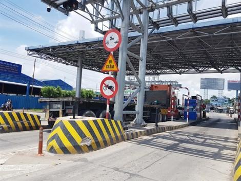 Trạm BOT T2 tạm dừng thu phí