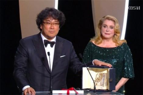 Đạo diễn đoạt Cành cọ vàng Cannes 2019 Bong Joon Ho: 'Cậu bé 12 tuổi mơ mộng làm đạo diễn'