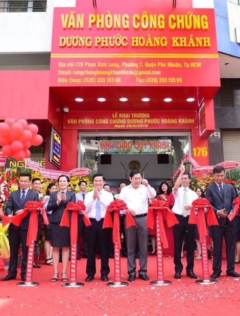 Khai trương Văn phòng công chứng Dương Phước Hoàng Khánh