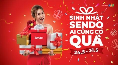 Sendo tung chương trình mua sắm lớn nhất năm mừng sinh nhật 7 tuổi